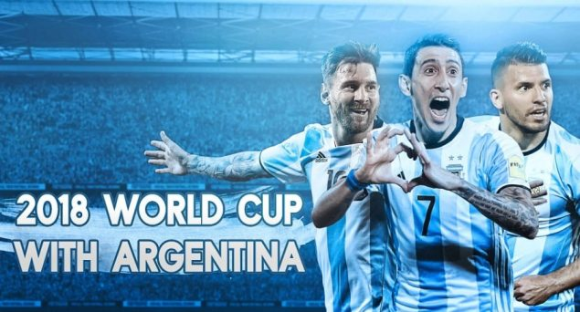 Argentina 2018 FIFA World Cup Wallpaper