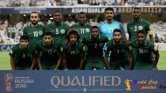 Saudi Arabia Team Squad