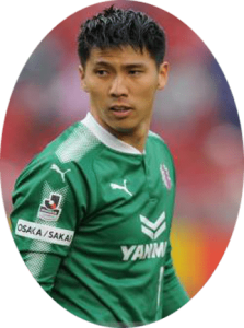 Kim Jin-hyeon is a South Korean football goalkeeper who currently plays for Cerezo Osaka in J1 League.