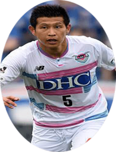 Kim Min-hyeok is a South Korean professional footballer who is playing for Sagan Tosu in the J. League Division 1 as a defender.