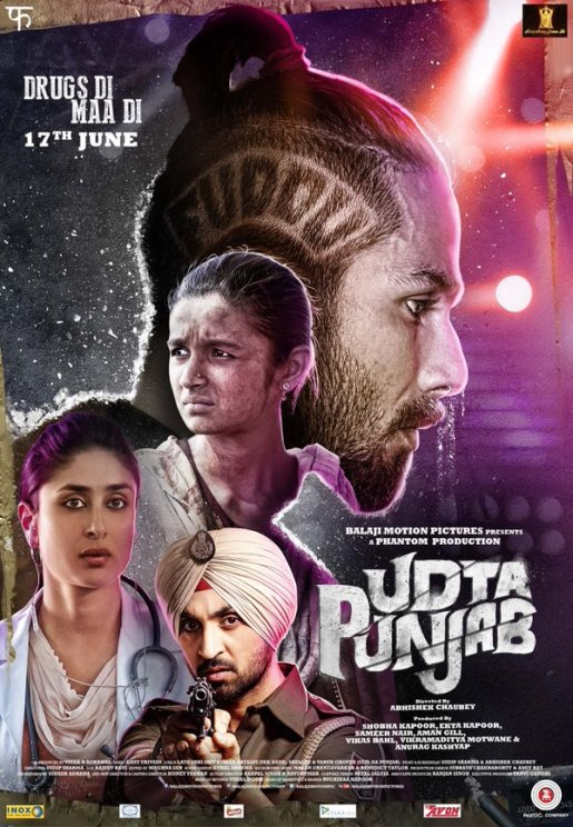 Udta Punjab 2016 Hindi DvDScr 900 MB