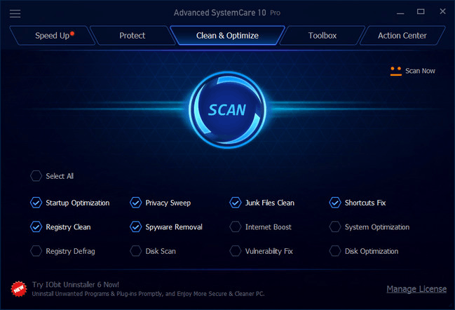 Advanced SystemCare Pro 11.0.3.186