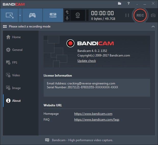 Bandicam 4.1.0.1362