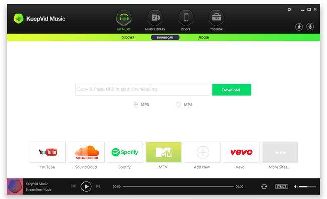 KeepVid Music 8.2.4.3