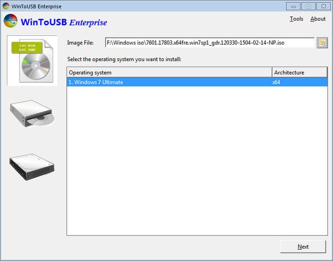 WinToUSB Enterprise 3.9