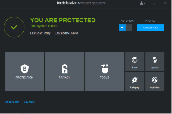 BitDefender Internet Security 2018 crack download with license key