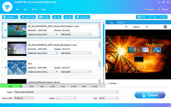 AnyMP4 Blu-ray Creator crack download
