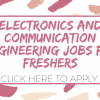 Electronics And Communication Engineering Jobs For Freshers