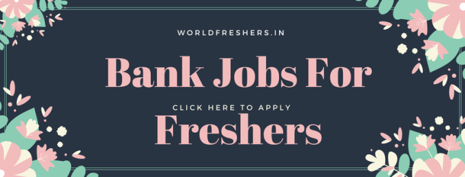 bank jobs for freshers