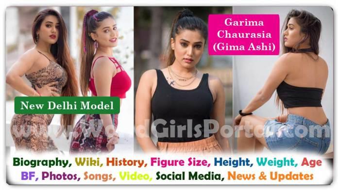 Garima Chaurasia (Gima Ashi) Biography Indian Instagram & TikTok Super Model Wiki Career Life Style Social Media Education Photos Video #GimaAshi