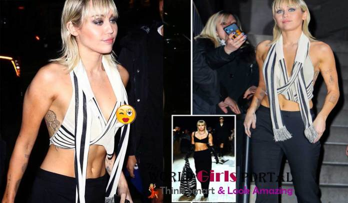 Miley Cyrus shares photos of her wardrobe malfunction | Live Hollywood News