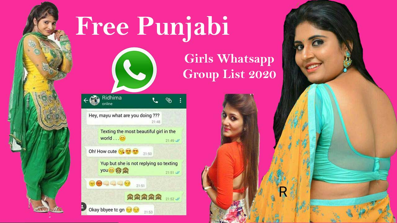 Punjabi Girl WhatsApp Group Link - Free Join | Dating, Chat 2020