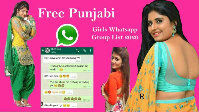 Punjabi Girl WhatsApp Group Link - Free Join | Dating, Chat 2021