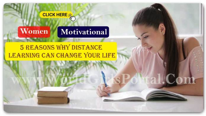 5 Reasons Why Distance Learning Can Change Your Life! Best Girls Motivational Idea - Indian Female WhatsApp Group Link 2021 Join New Update