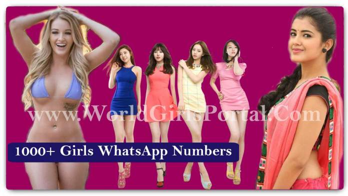 1000+ Girls WhatsApp Numbers for Friendship in World, WeChat, Phone No. Near by me