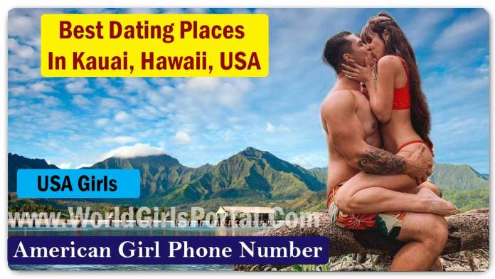 Best Dating Places In Kauai for Meet Girls & Dating Guide @Hawaii, USA | Love Tips