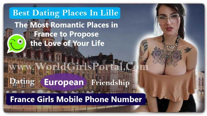 Best Dating Places In Lille for Meet Girls & Dating Guide France Romantic Place for Purpose