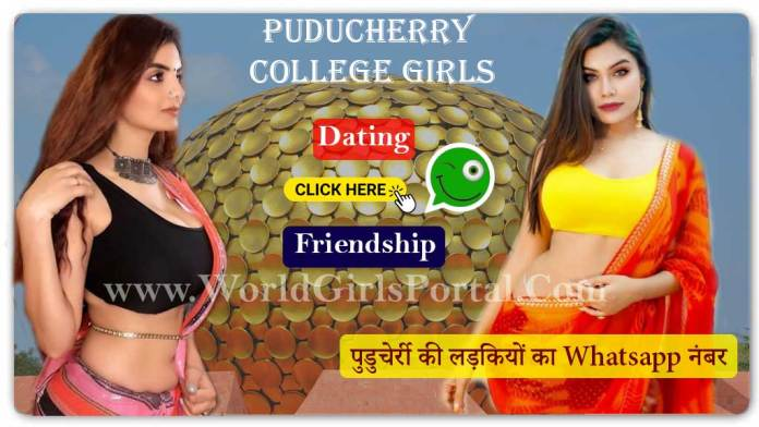 Puducherry College Girls WhatsApp Numbers for Dating, Friendship, Find Single Girls Near by me