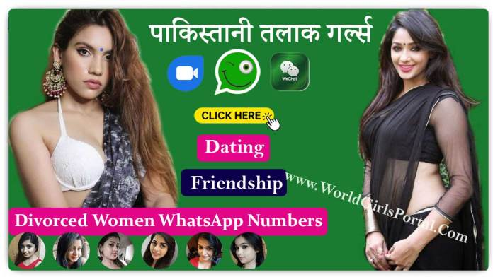 Pakistani Divorced Women WhatsApp Number and Groups, Single Talaq Girl WP Group