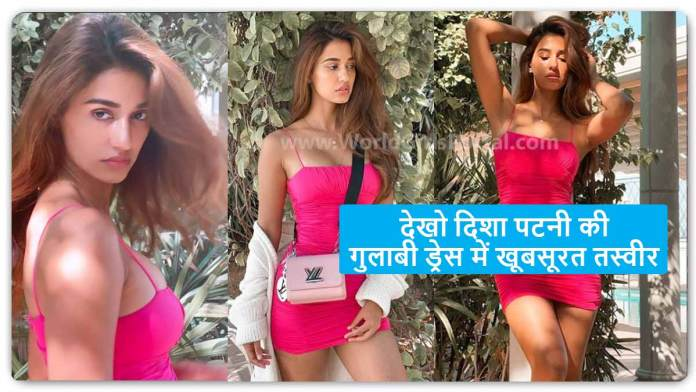 Disha Patani Pink Dress Looking So Bold & Gorgeous, Today Bollywood Fashion News 2021