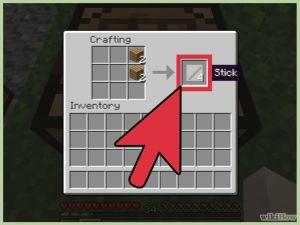 Cómo hacer herramientas en Minecraft 1