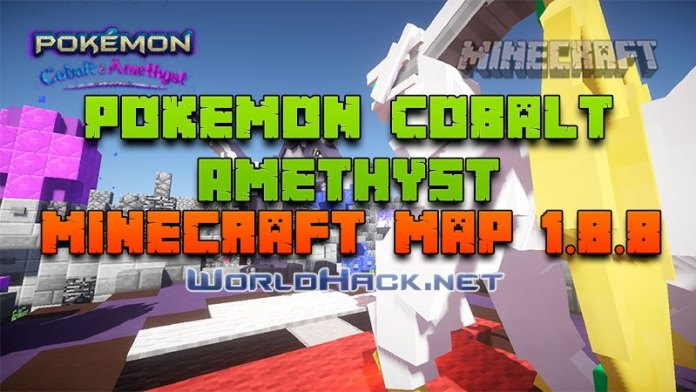 Mapa-para-minecraft-Pokemon-Cobalt-and-Amethyst