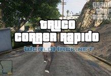 Truco Correr Rápido GTA 5