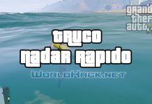 Truco Nadar Rápido GTA 5