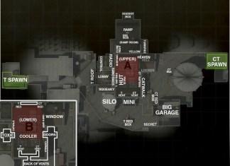 De_Nuke Map Callouts CSGO
