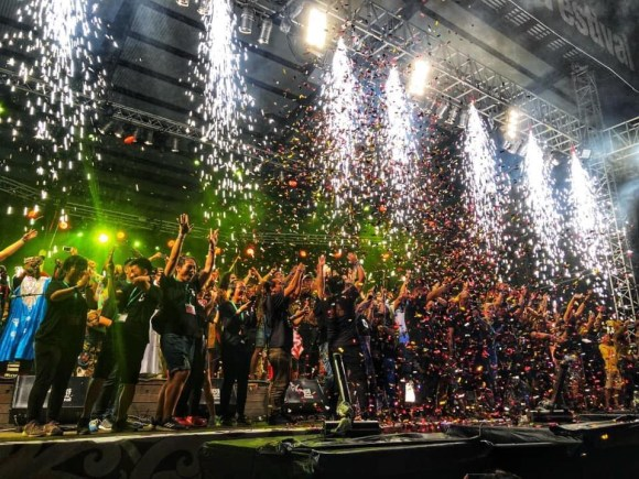 rainforest world music festival (rwmf) 2019 finale