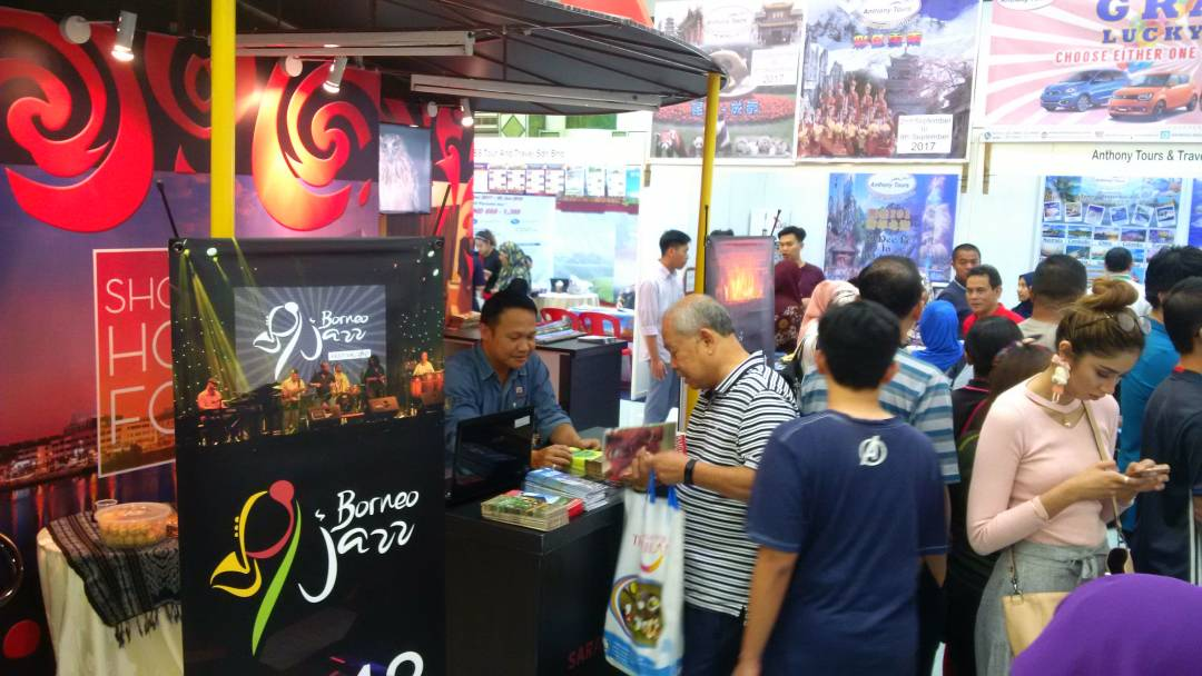 Brunei visitor at Sarawak Tourism Board's booth