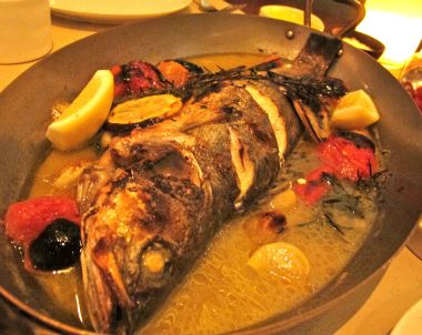 Truth or myth: Don't flip a Simply Roasted 7-star Seabass over when one side has been eaten; usually mislay a bone.