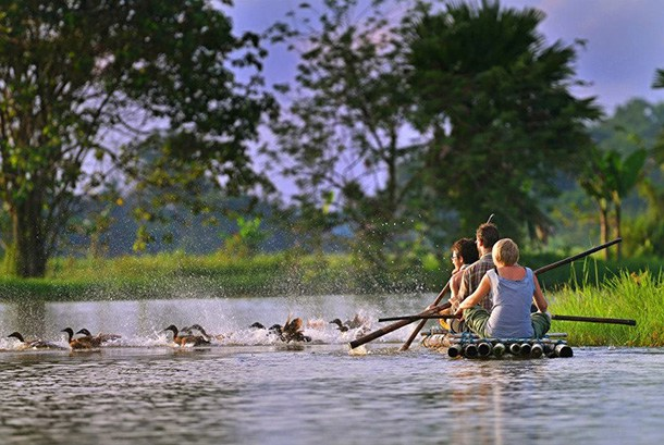Kahang Organic Rice Eco Farm Resort - Row Boat