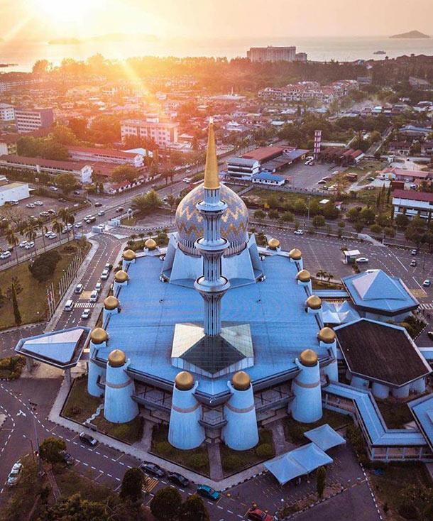 Masjid Negeri Sembulan Kota Kinabalu