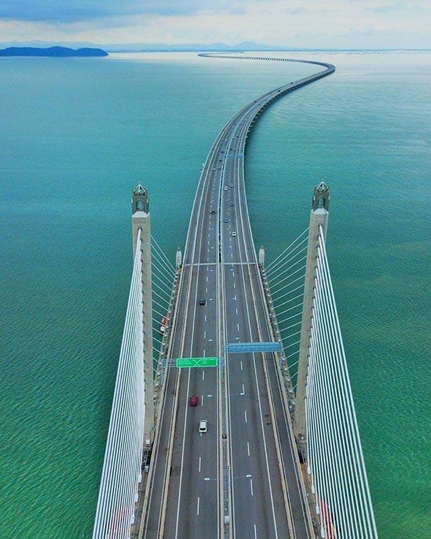 Penang Bridge Image