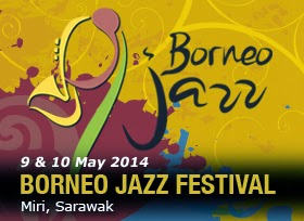 Borneo Jazz 2014 | Early Bird Tickets Offer | Sarawak