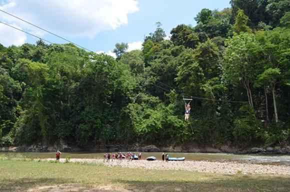 Borneo Zip Line Kota Kinabalu Image