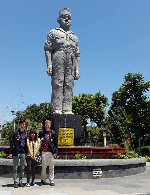 Governor Suryo Monument