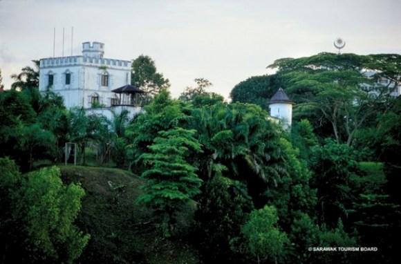 Kuching Heritage Fort Margherita, Sarawak, Malaysia