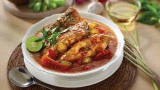 Asam Mackerel Fish with Small Carambola