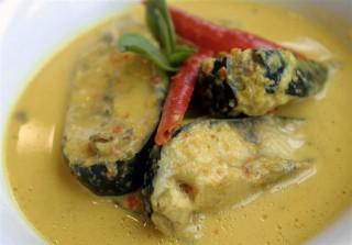 Patin in Tempoyak Sauce