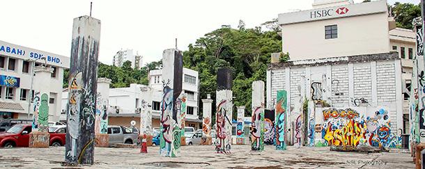 Street Art Grafitti Gallery Kota Kinabalu