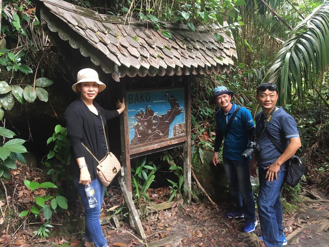 Danang Department of Tourism officials at Bako National Park