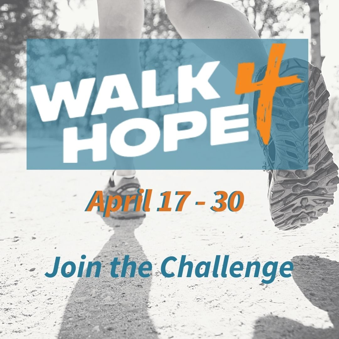 Join the walk4hope challenge