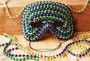 Plain masquerade masks for decorating