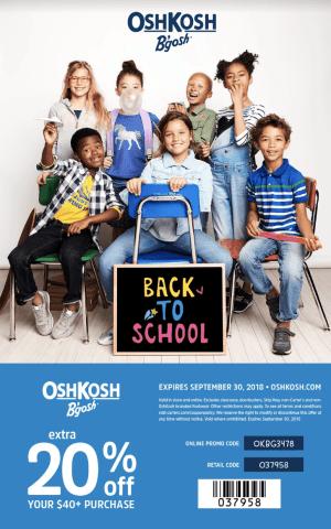 Back to school with OshKosh B'gosh - World in Four Days