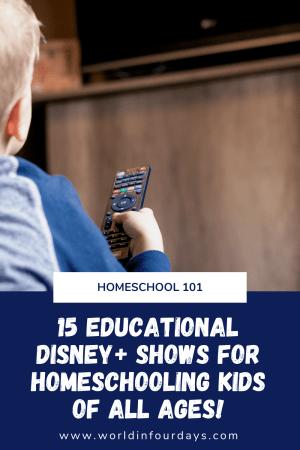 15 Educational Ways To Homeschool With Disney Plus