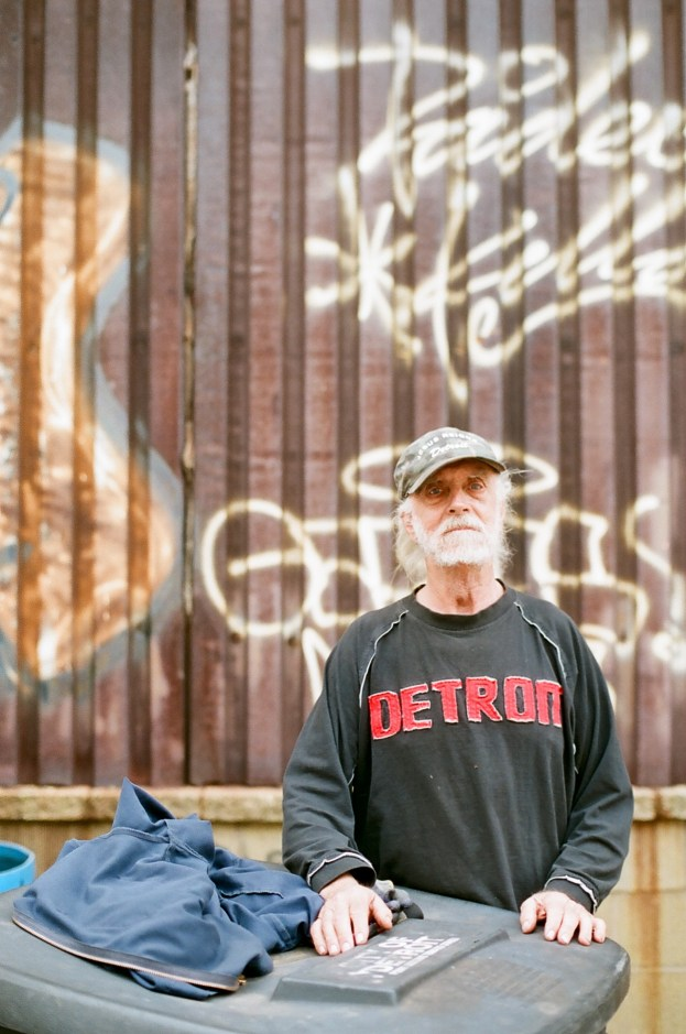 Allan Hill, who lives at the abandoned plant