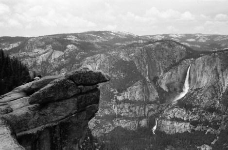Yosemite Falls overlook