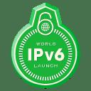 World IPv6 Launch Day Badge